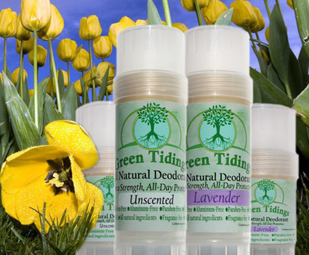 Product Review: Green Tidings All Natural Deodorant